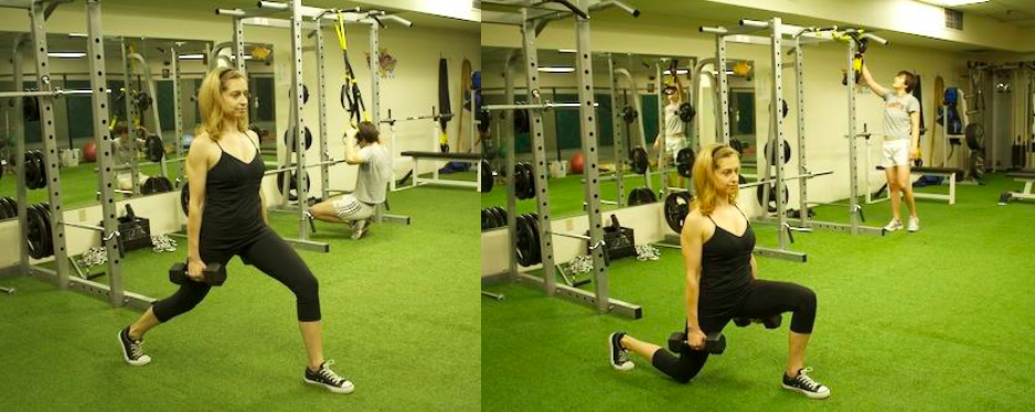romanian split squat